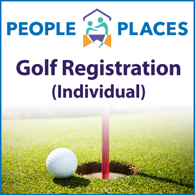 People Places Golf Registration - Individual