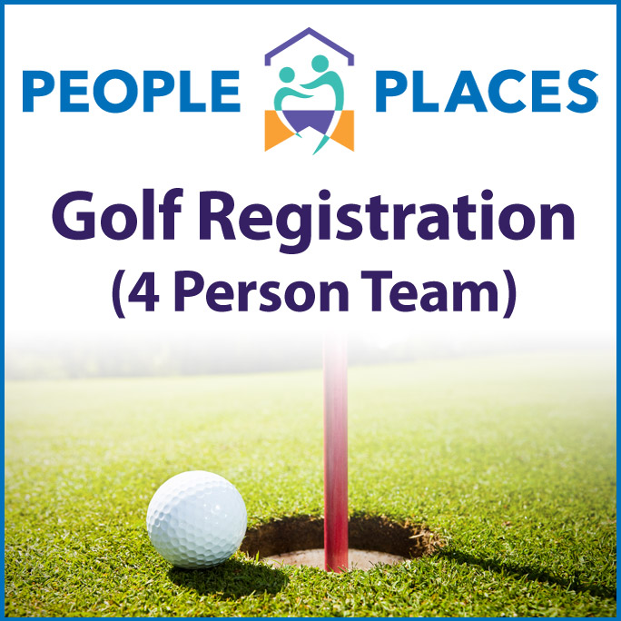 People Places Golf Registration - Team of 4